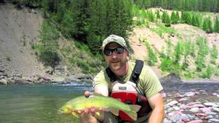 Glacier National Park Fly Fishing Photo Compilation