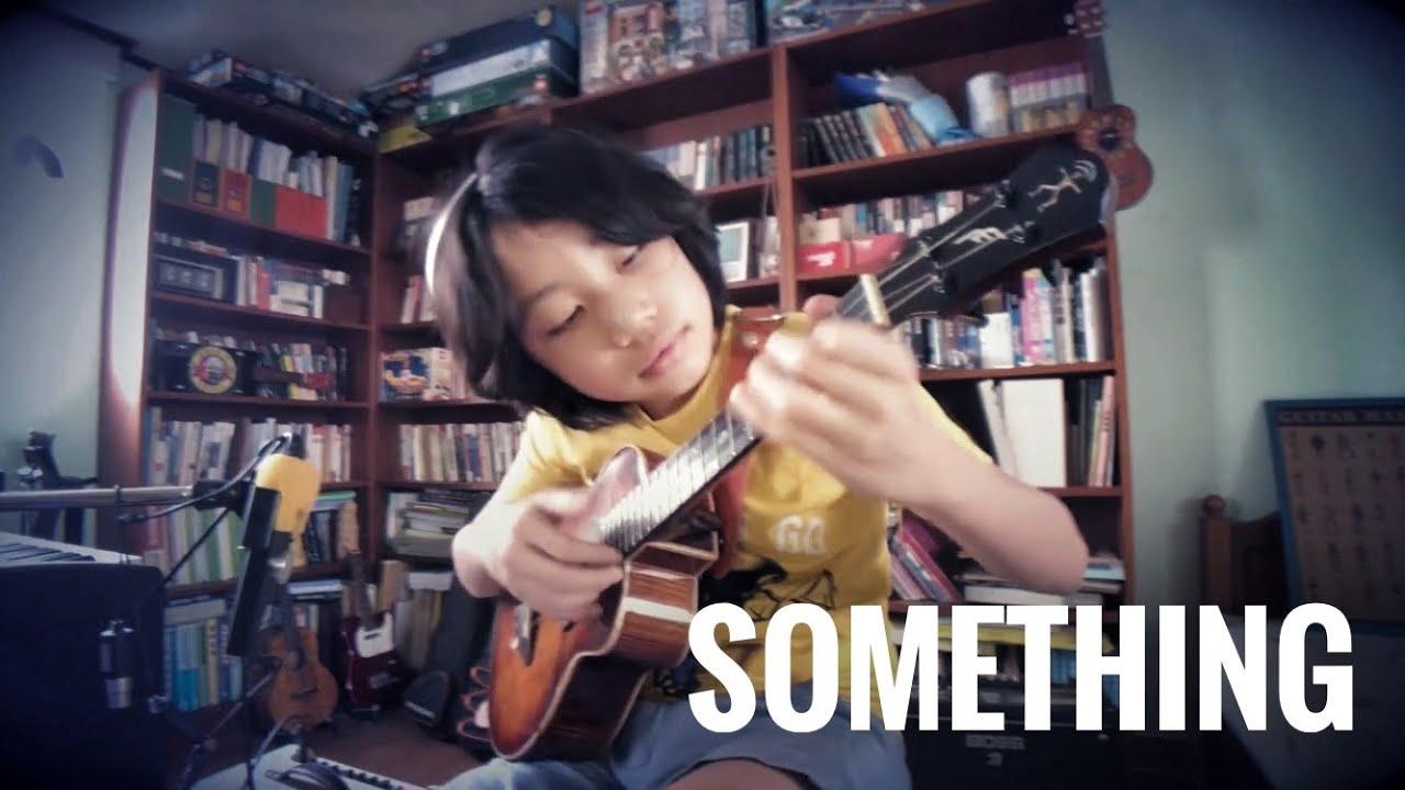 Angelina Muniz Nova something/ the beatles, arranged and playedfeng e