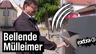 Realer Irrsinn: Sprechende Mülleimer in Bremen Nord