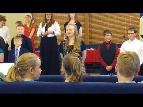 I Saw Jesus in you-Liberty baptist school choir