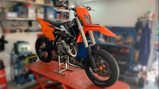 KTM 125 xcw project Motard