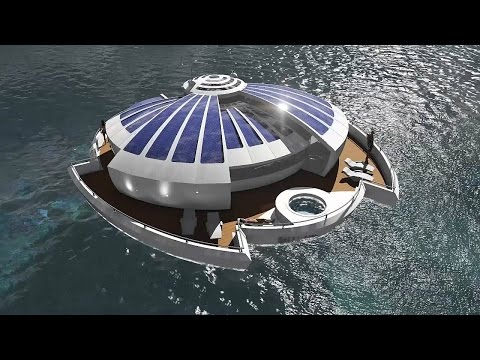 Floating solar islands | concept by MPD Designs