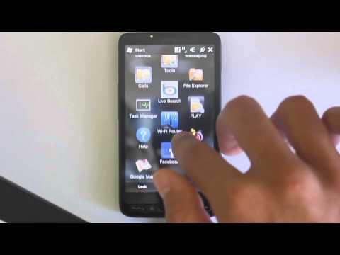 Powrót Instalowanie Windows Mobile 6.5 Return Installation WINDOWS MOBILE 6.5 HTC HD2 LEO