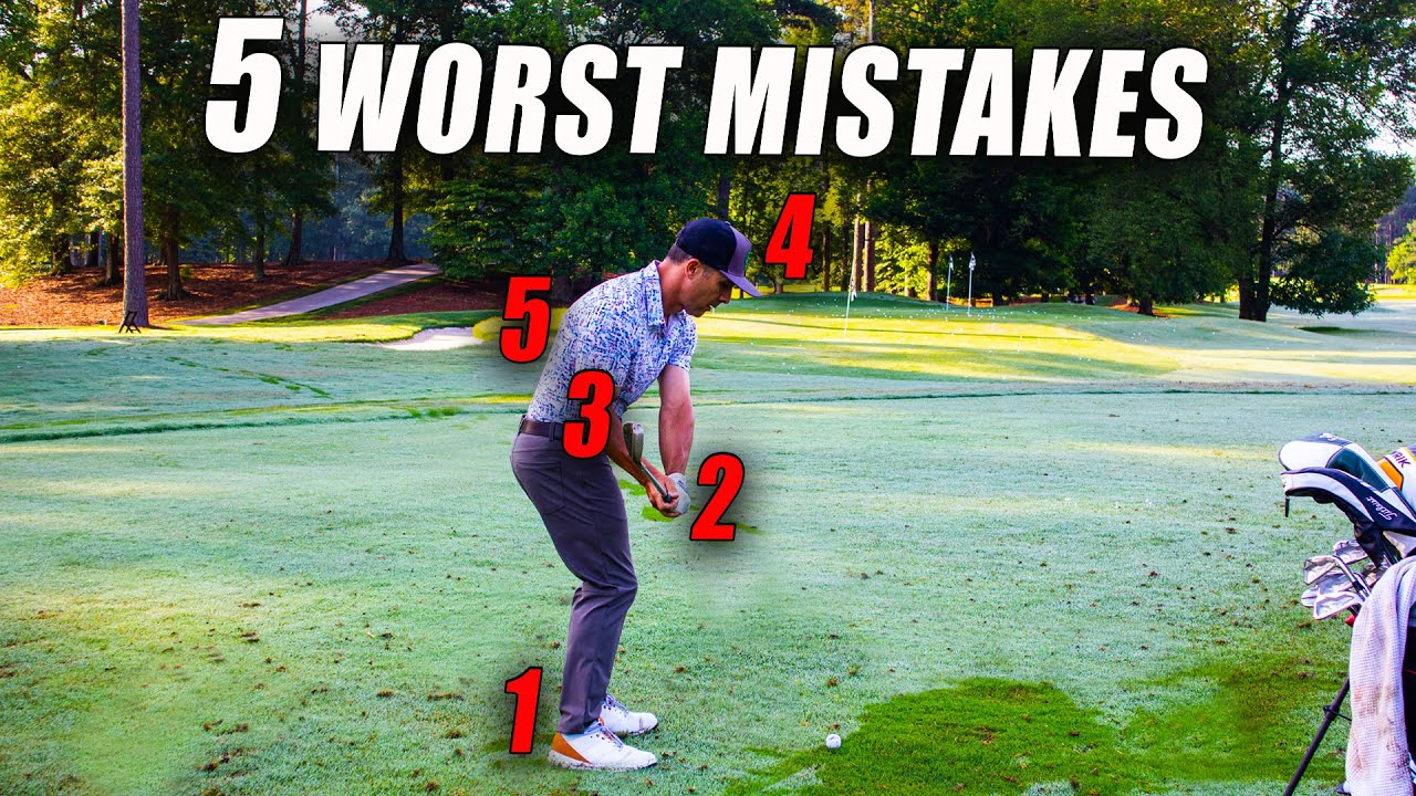 THE 5 BIGGEST MISTAKES GOLFERS MAKE WITH THEIR PITCH SHOTS