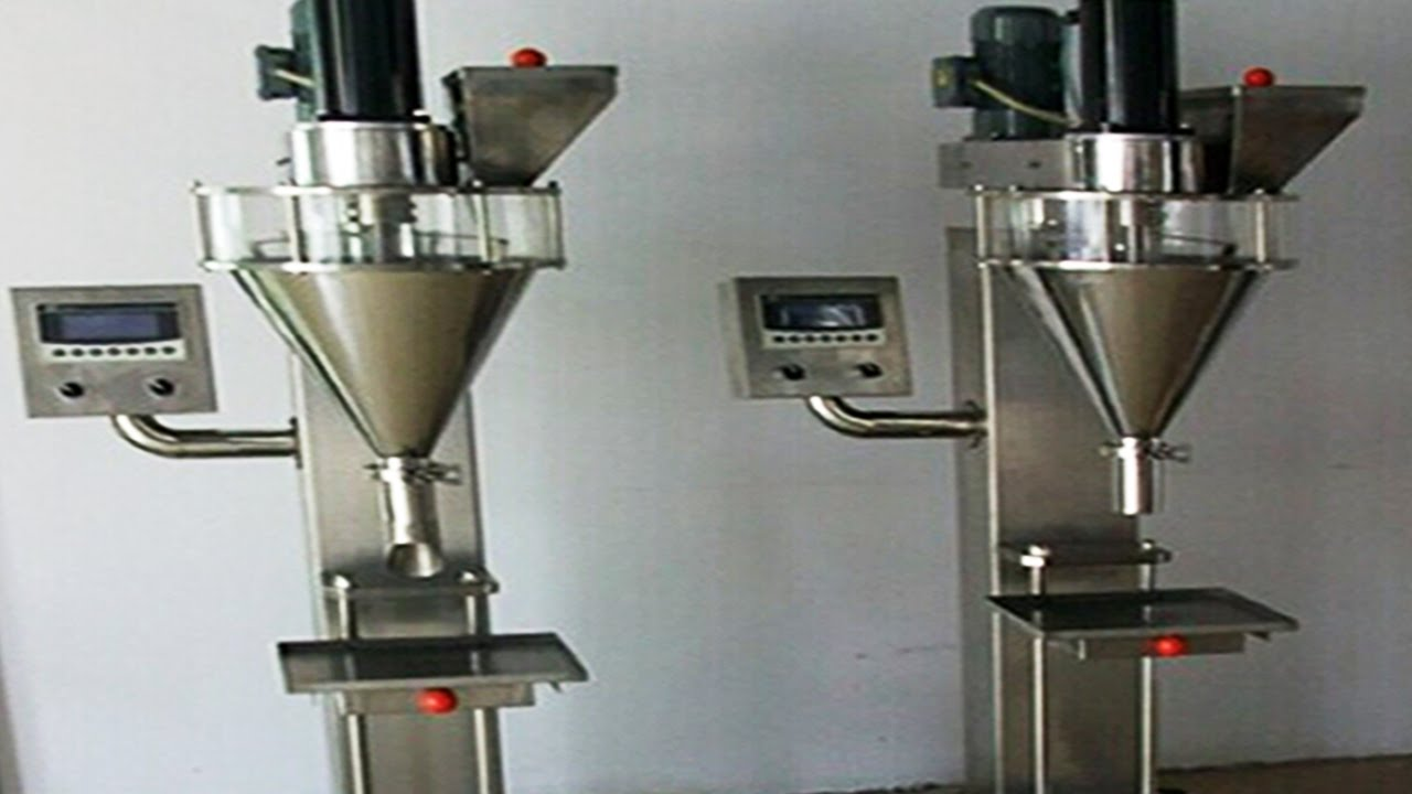 Metal Cans Powder Filling Machine Semi Automatic Bottles