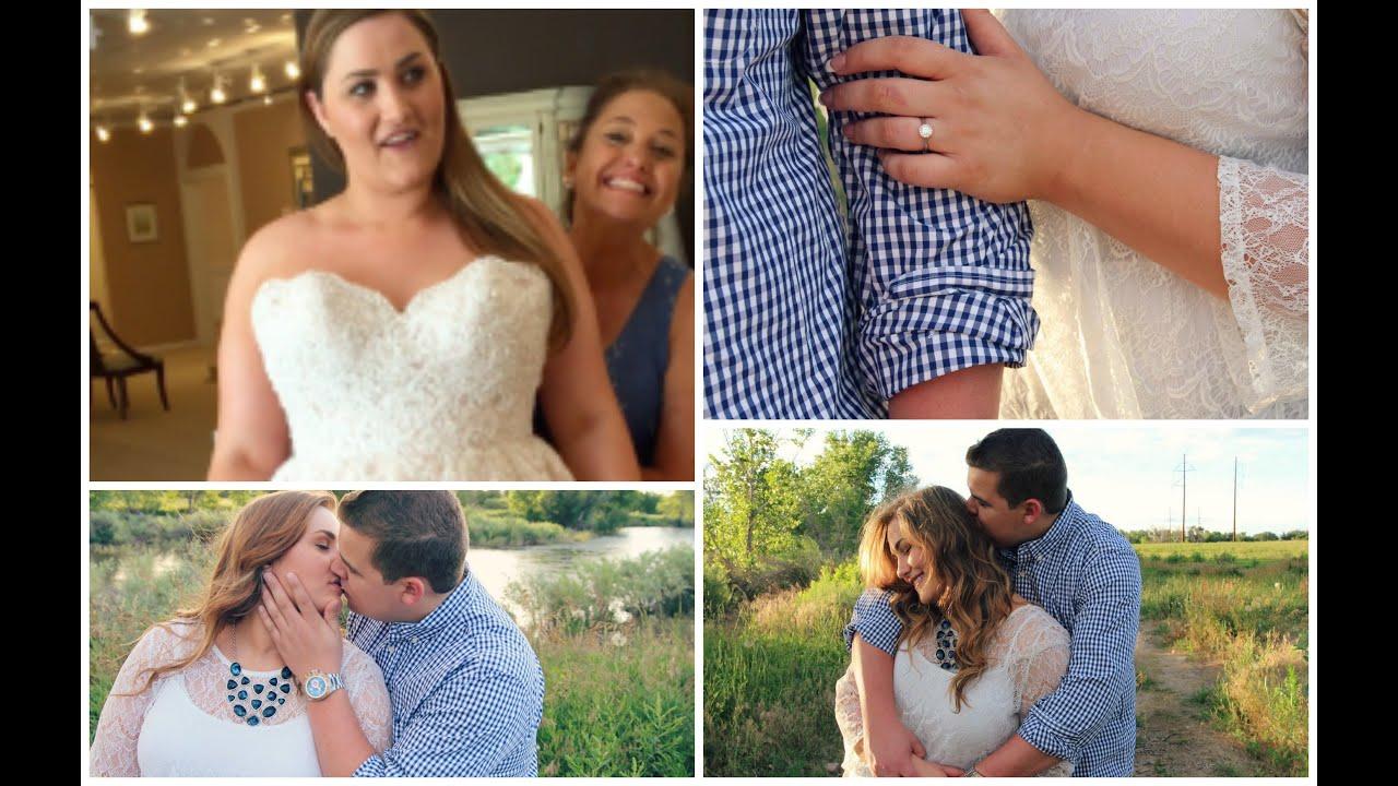 Wedding Dresses And Engagment Photos Youtube
