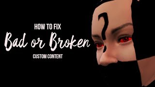 Video HOW TO REMOVE BAD/BROKEN CC IN THE SIMS 4 download MP3, 3GP, MP4, WEBM, AVI, FLV Agustus 2018