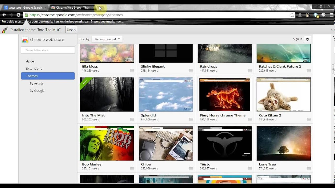 User styles google chrome themes - Get The Best Themes For Google Chrome And Make It More Stylish In The Easy And Free Way Hd