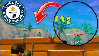 *NEW RECORD* LONGEST Snipes in Fortnite Battle Royale HISTORY!