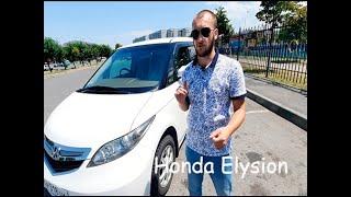 Honda Elysion (Хонда Элизион) первого поколения.  Минивен для семьи и не только.