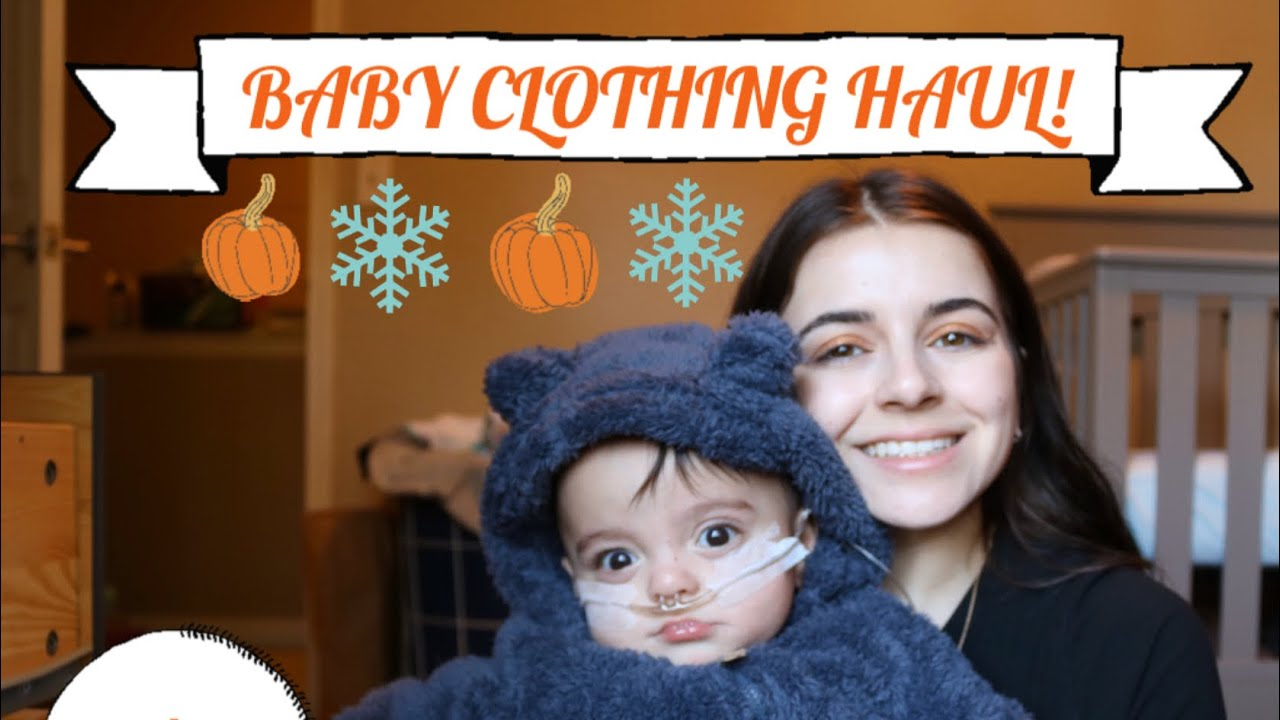 [VIDEO] - BABY FALL/WINTER CLOTHING HAUL! CUTE & AFFORDABLE FINDS! (Target, Carter's...etc) 1