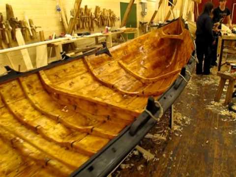 Risteprøve nybygd trebåt