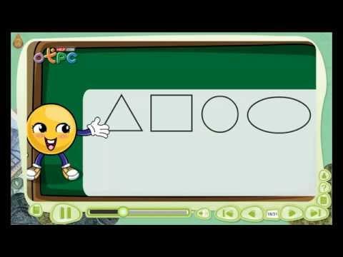 รูปเรขาคณิต 2 มิติ - สื่อการเรียนการสอน คณิตศาสตร์ ป.3