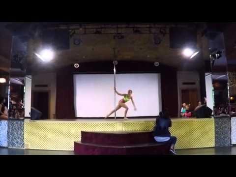 Банукова Яна - 2 место (юниоры) Pole Kids Competition 2016