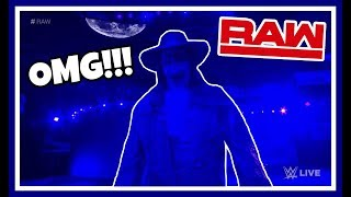 THE UNDERTAKER MAKES SURPRISE APPEARANCE reaction!!! WWE RAW 9/3/18
