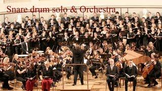 �������� ���� Amazing Snare Drum solo & orchestra ������