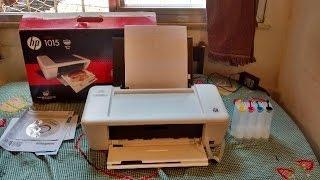 HP DESKJET INK ADVANTAGE 1015 PRINTER COM BULK INK SONORO