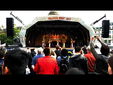 Malaysia night 2015 - Trafalgar Square - London