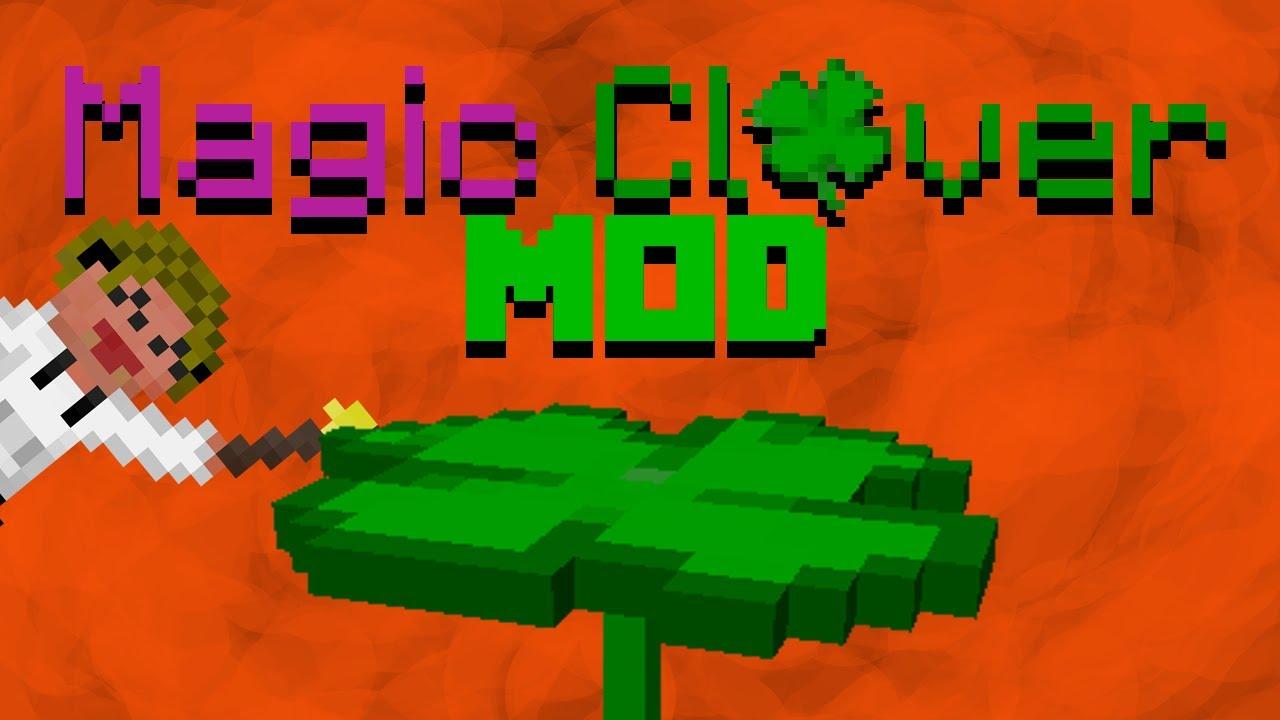 Magic Clover - Four-Leaf Clover in Minecraft! - Minecraft Mods