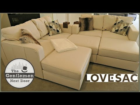 Lovesac Sactionals | Unboxing, Assembling, & Review! | The Gentlemen Next Door