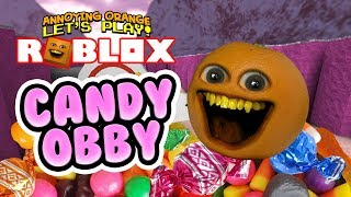 Roblox: Candy Obby! [Annoying Orange Plays]