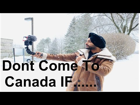Don't Come To CANADA IF..   Why Immigrants Leave Canada ?  Immigration Canada 2020  Abroad Ka Indian