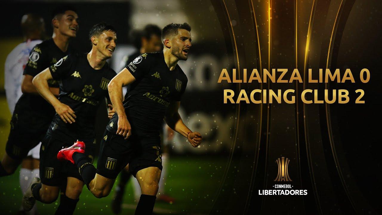 Alianza Lima vs. Racing Club [0-2]   RESUMEN   Fase de Grupos   Jornada 4   Libertadores 2020