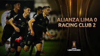 Alianza Lima vs. Racing Club [0-2] | RESUMEN | Fase de Grupos | Jornada 4 | Libertadores 2020