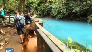 Rio Celeste: the bluest waterfall on earth