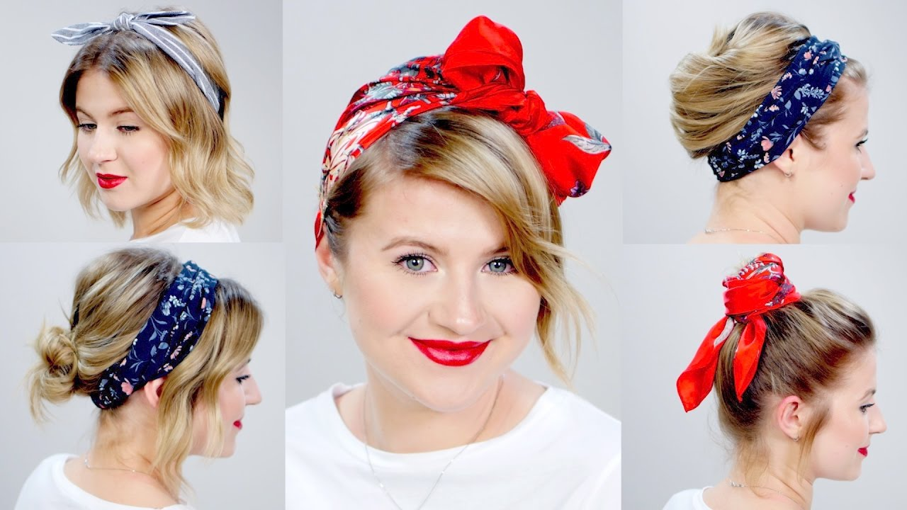 5 Minute Hairstyles For Short Hair: 5 ONE-MINUTE EASY HEATLESS HAIRSTYLES