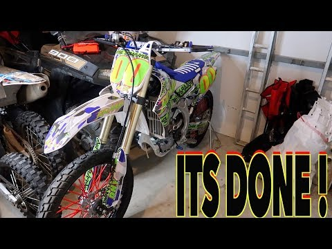 NEW GRAPHIC KIT REVEAL !! (2019 YZ450F)