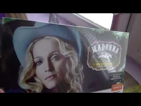 Madonna - Unboxing Music & Erotica (Sainsbury`s)