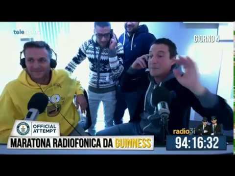 Guinnes record Radio 3i - Ecco cosa si fa a Radio3i per uscire da un momento di crisi