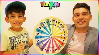 Jason Learns Letters with the Mystery Wheel in School