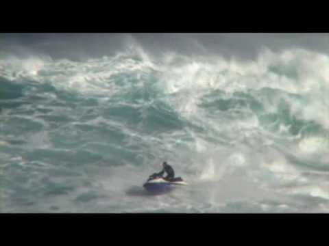 Surfing on Easter Island (Rapa Nui) Mataveri, Papa Tangaroa