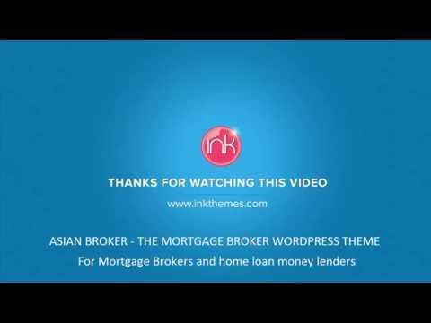 Asian Broker: The Mortgage Broker WordPress Theme