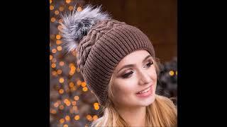 Лучшие шапки для женщин-вязаные,модные,стильные#фото#