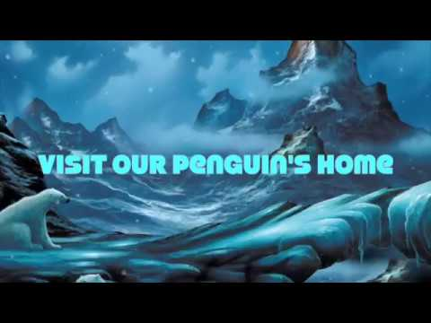 Hero Arts Penguin 3D Birthday Card with DIY Igloo