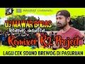 Dj Mawar Bodas Lagu Cek Sound Brewog Di Pasuruan Remixer R Project  Mp3 - Mp4 Download