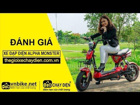 Đánh gia xe đạp điện Alpha Monster