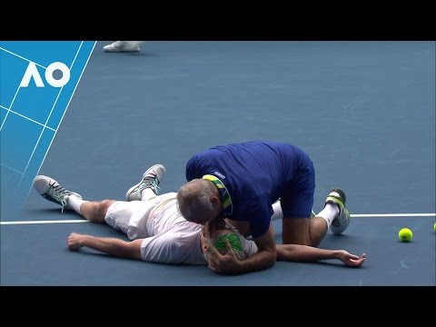 John McEnroe gets more than he bargained for | Australian Open 2017