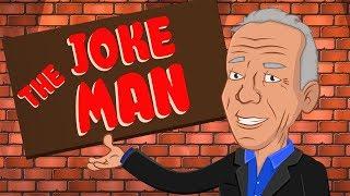 De Dibujos Animados Caja De Jackie Martling ''La Broma Hombre''   Comedia De Dibujos Animados