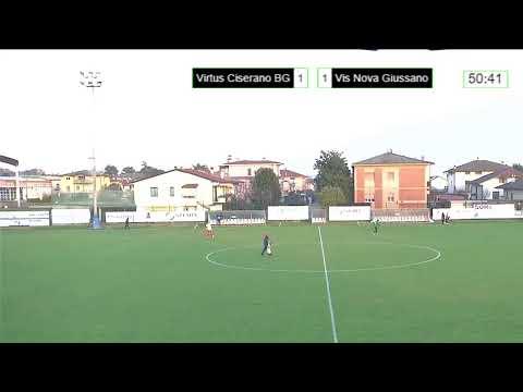 Live streaming di Virtus CiseranoBergamo