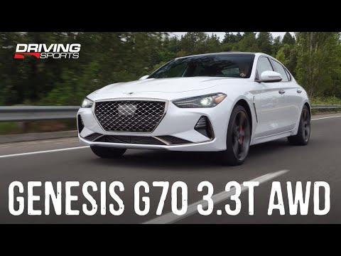 2019 Genesis G70 3.3T AWD Sport Review