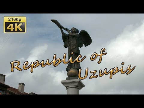 Vilnius, Impressions of the Republic of Uzupis - Lithuania 4K Travel Channel
