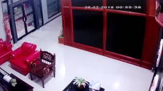 Detik detik terjadinya gempa di papua tgl 26/02/2018.lokasi hotel honai..
