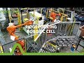 Addition Manufacturing Technologies- Ridge Locking Robotic Cell