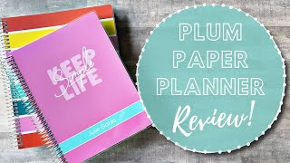 REVIEW! | Plum Paper Hourly and Daily Planners