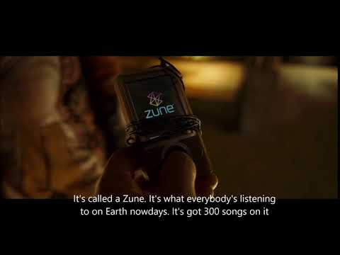 Guardians of the Galaxy 2 - It's called a Zune