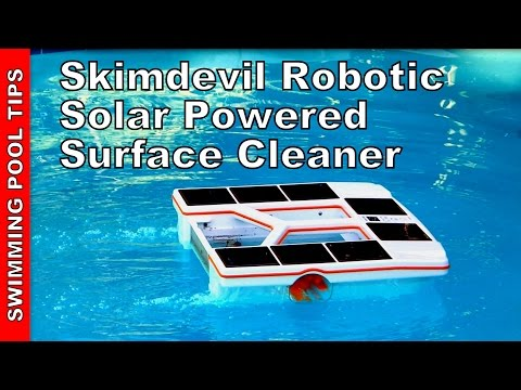 Thumbnail: Skimdevil® Robotic Solar Powered Surface Cleaner Camio SX15- Review & Overview